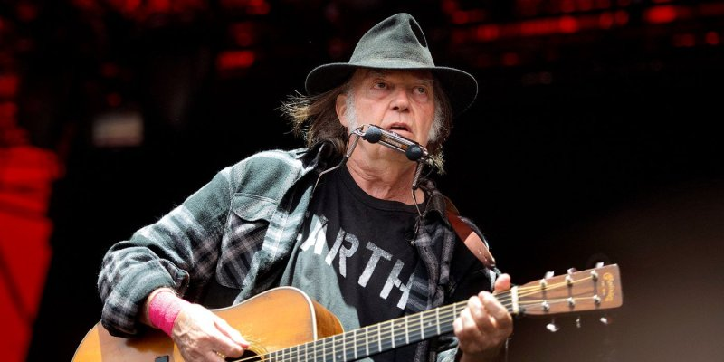 Neil Young macht ernst