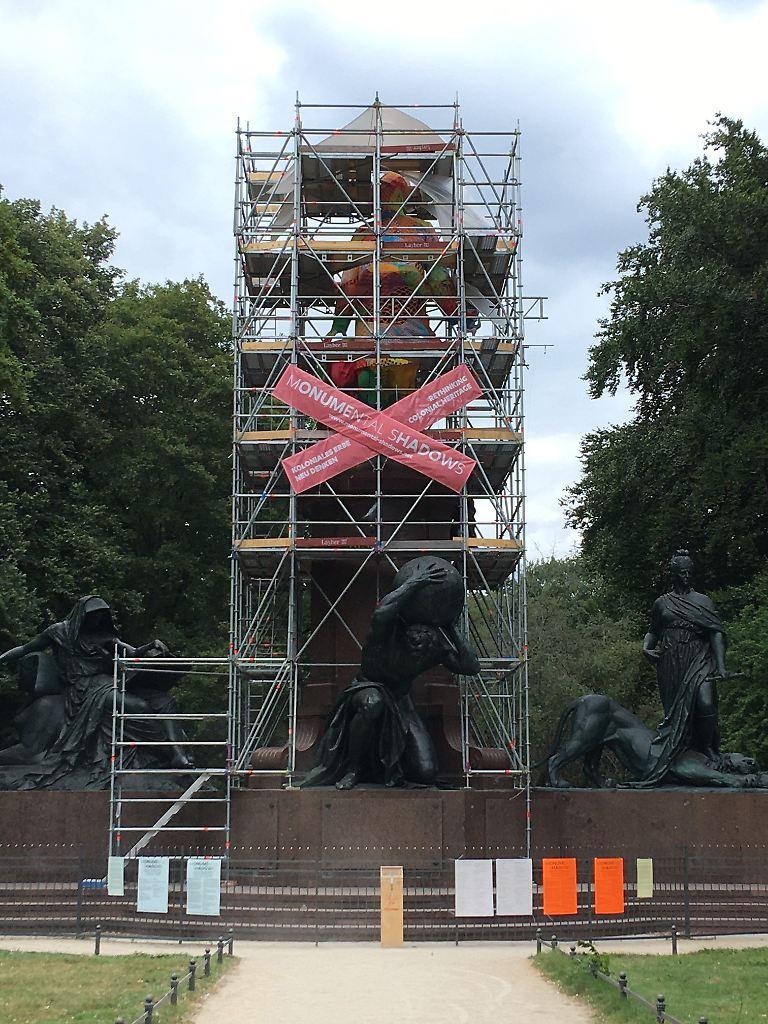 Bismarck-Statue im Tiergarten