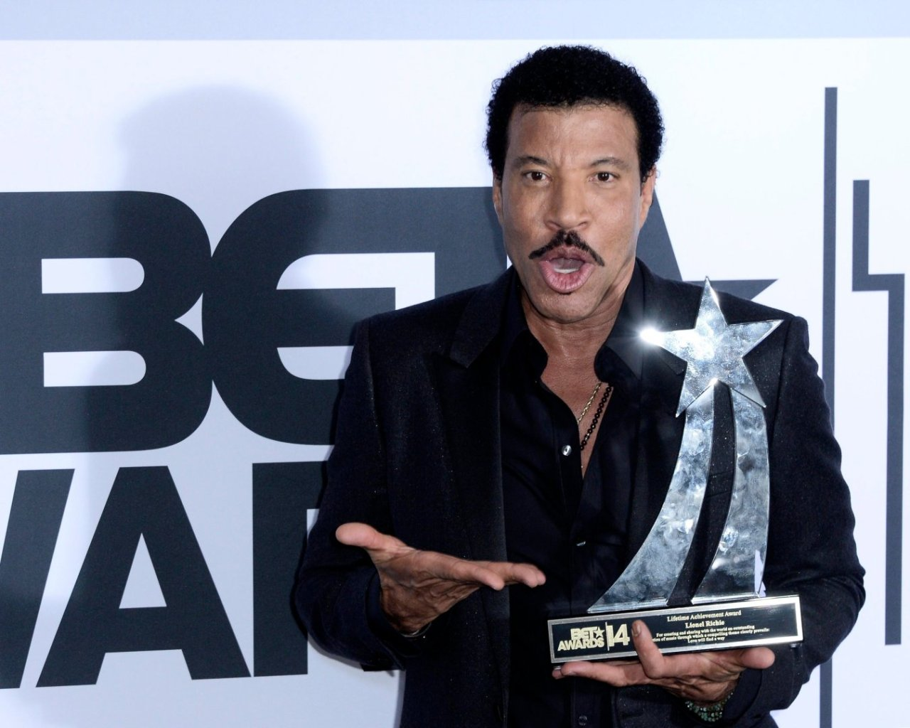 Lionel Richie, BET Awards 2014